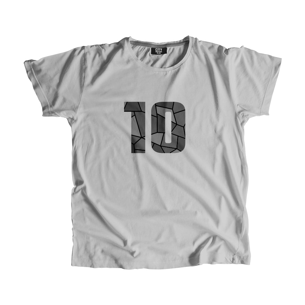 10 Number Men Women Unisex T-Shirt
