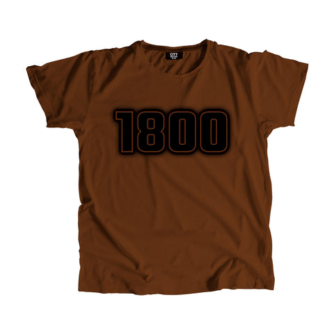 1800 Year Men Women T-Shirt