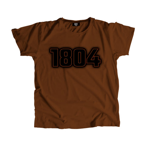 1804 Year Men Women T-Shirt