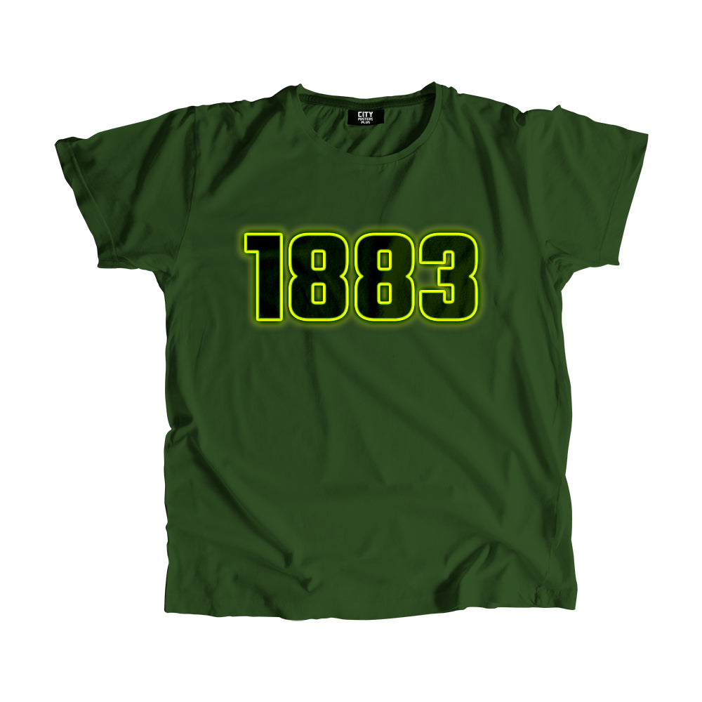 1883 Year Men Women Unisex T-Shirt