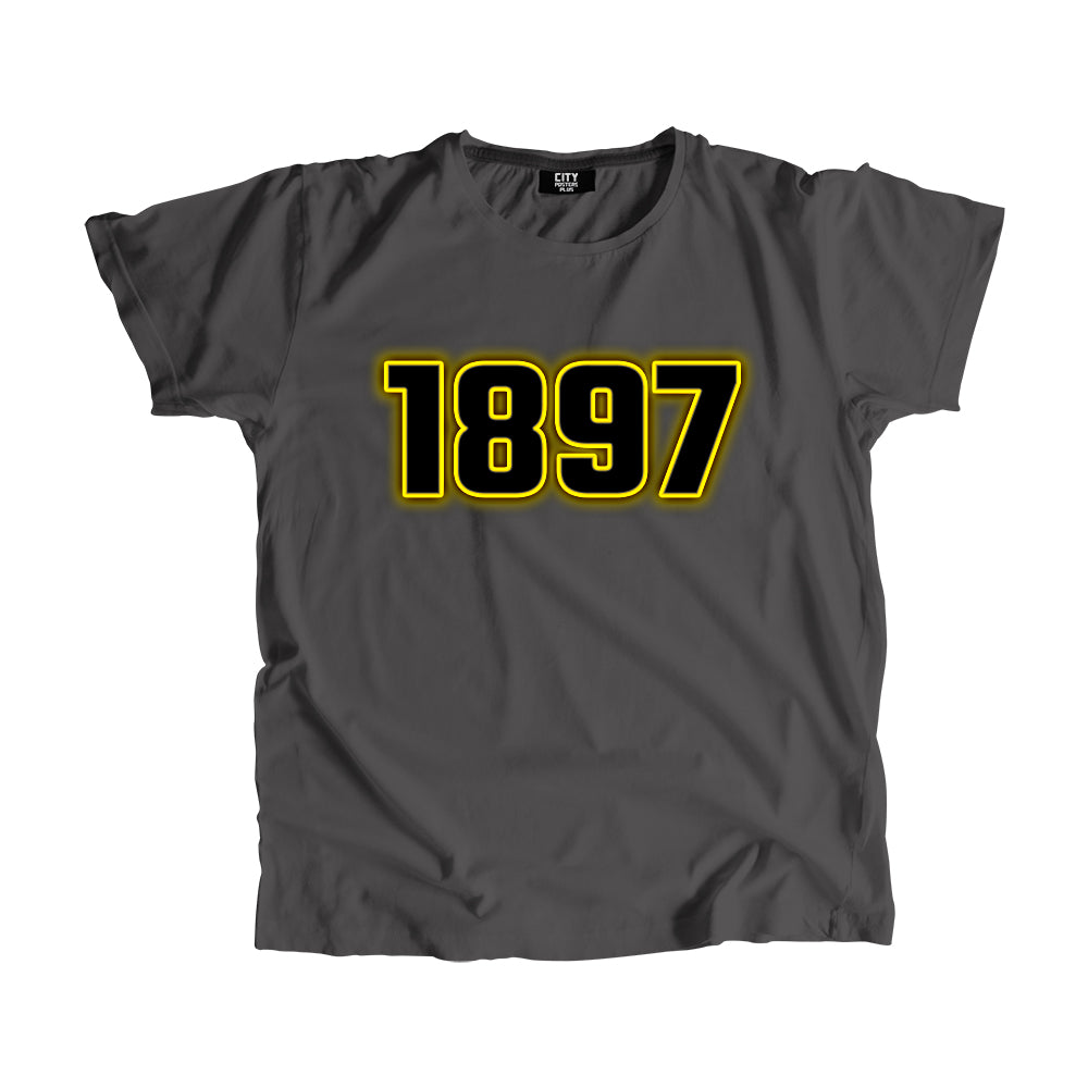 1897 Year Men Women Unisex T-Shirt