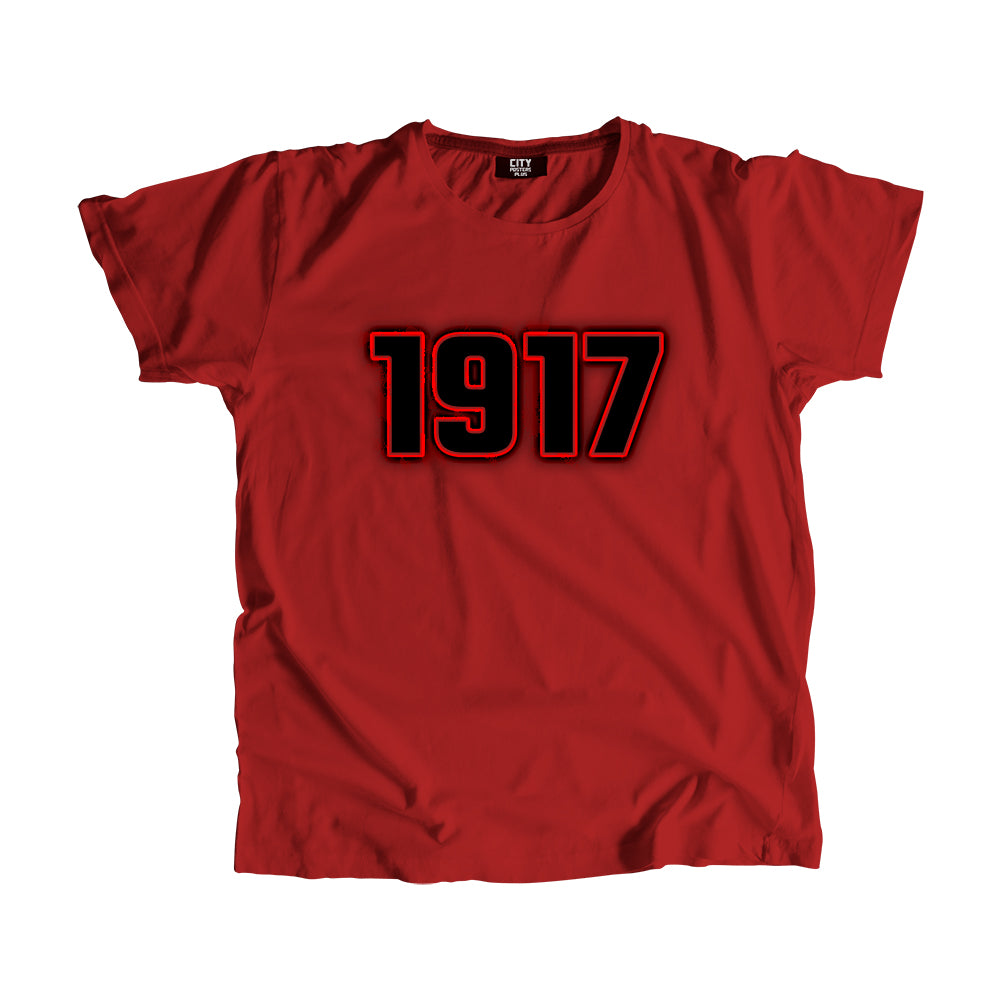 1917 Year Men Women Unisex T-Shirt
