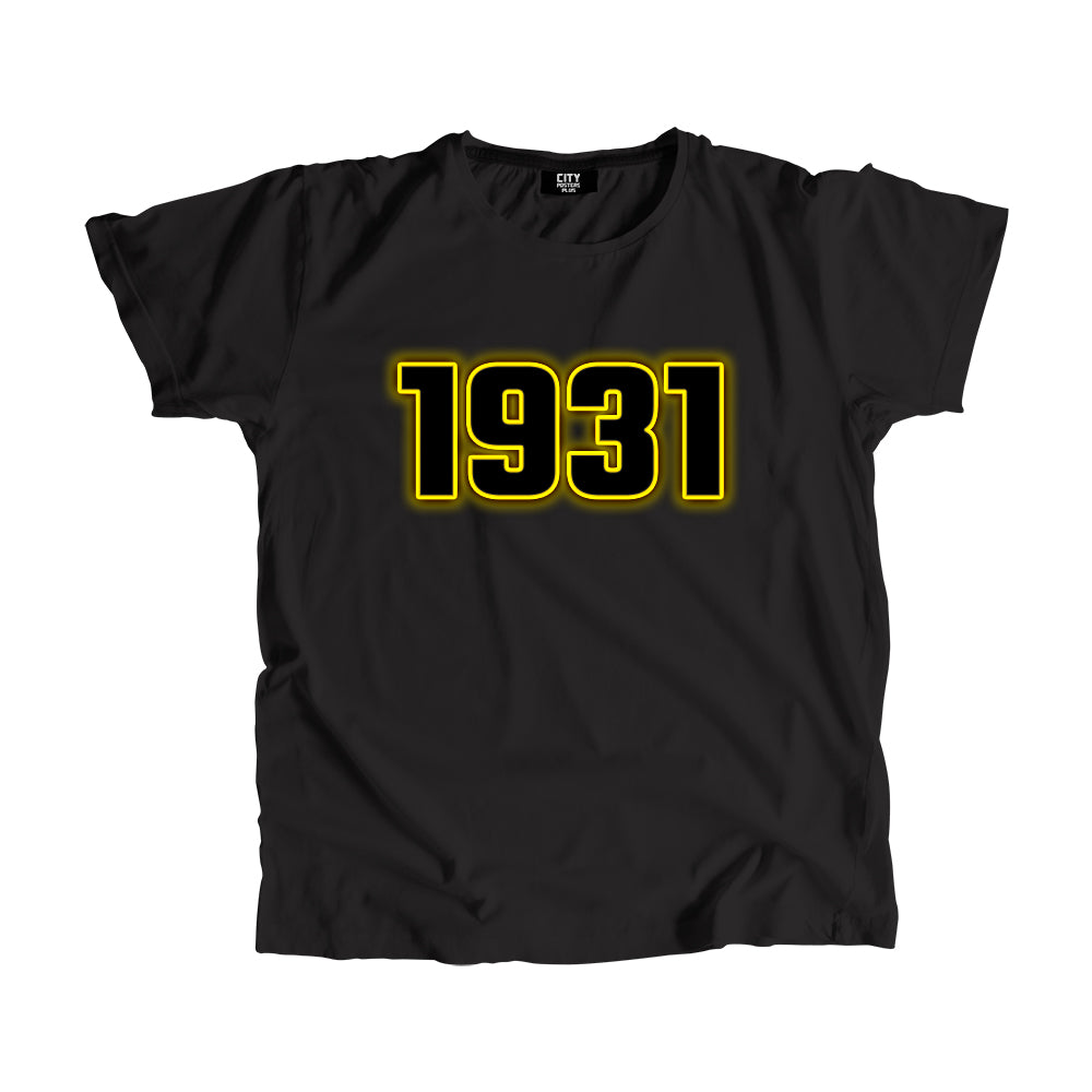 1931 Year Men Women T-Shirt