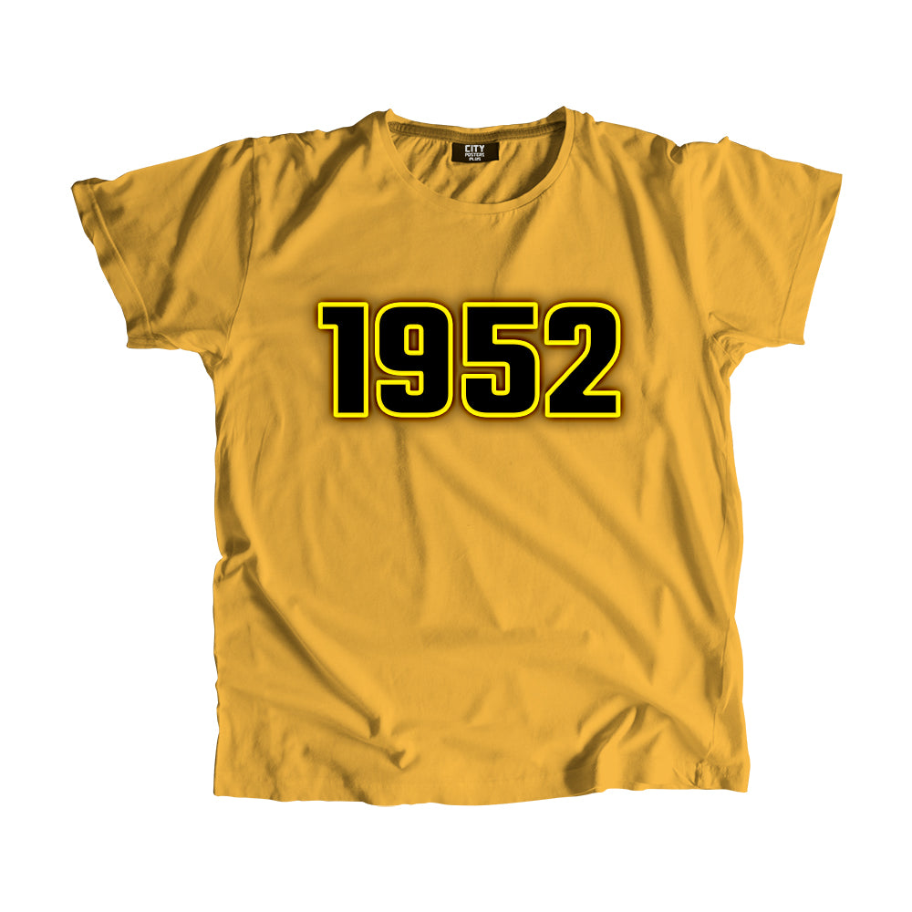 1952 Year Men Women T-Shirt