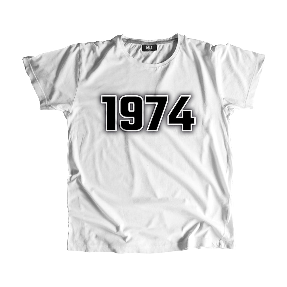 1974 Year Men Women Unisex T-Shirt