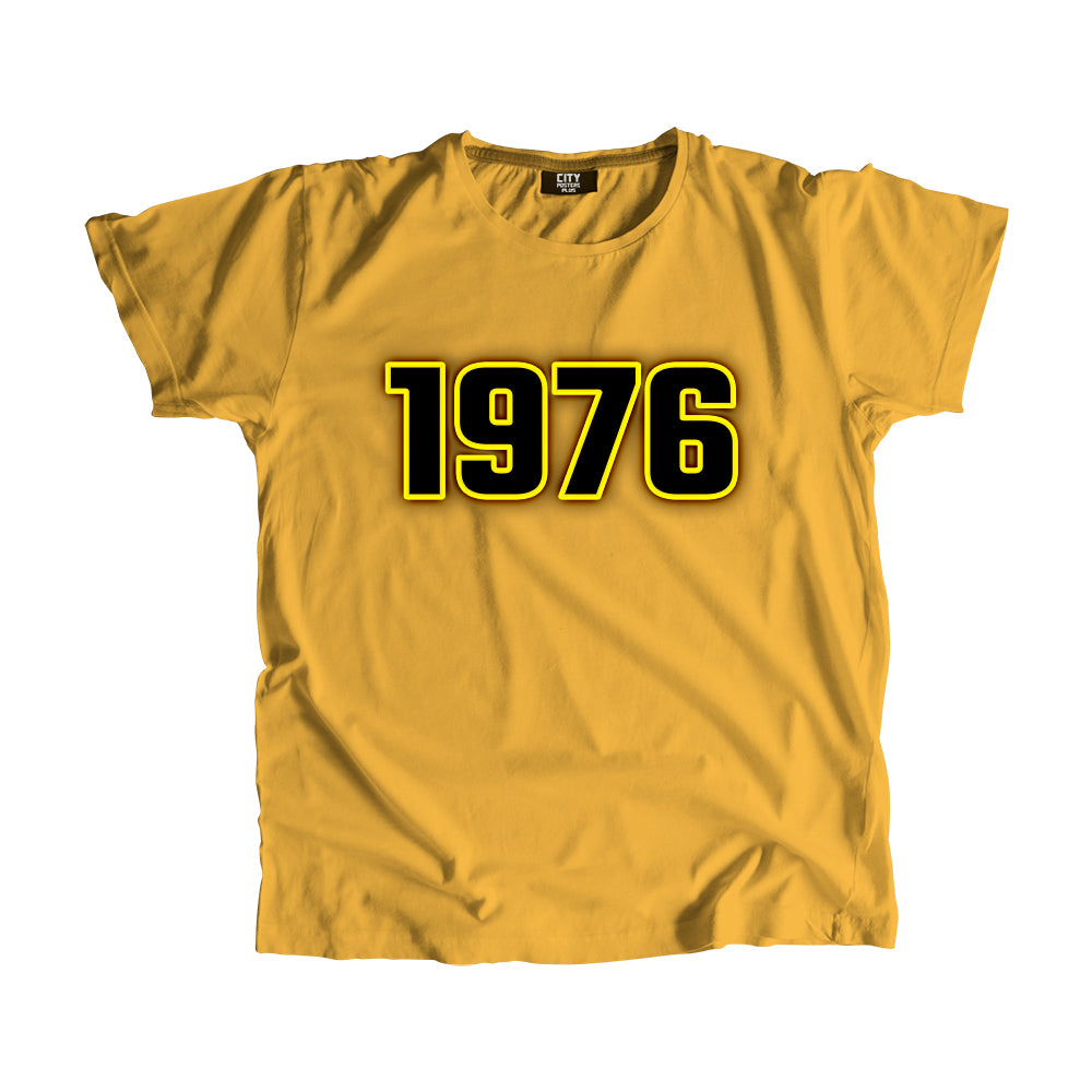 1976 Year Men Women T-Shirt