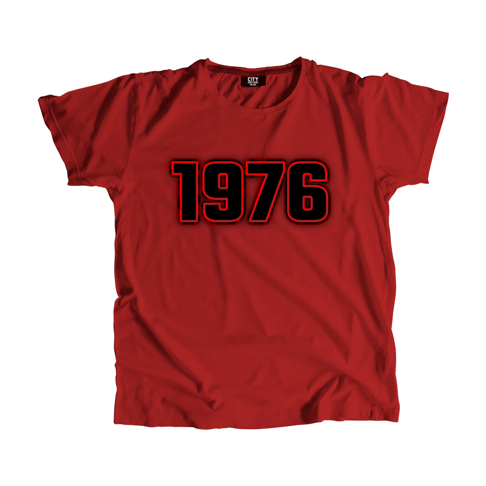 1976 Year Men Women Unisex T-Shirt
