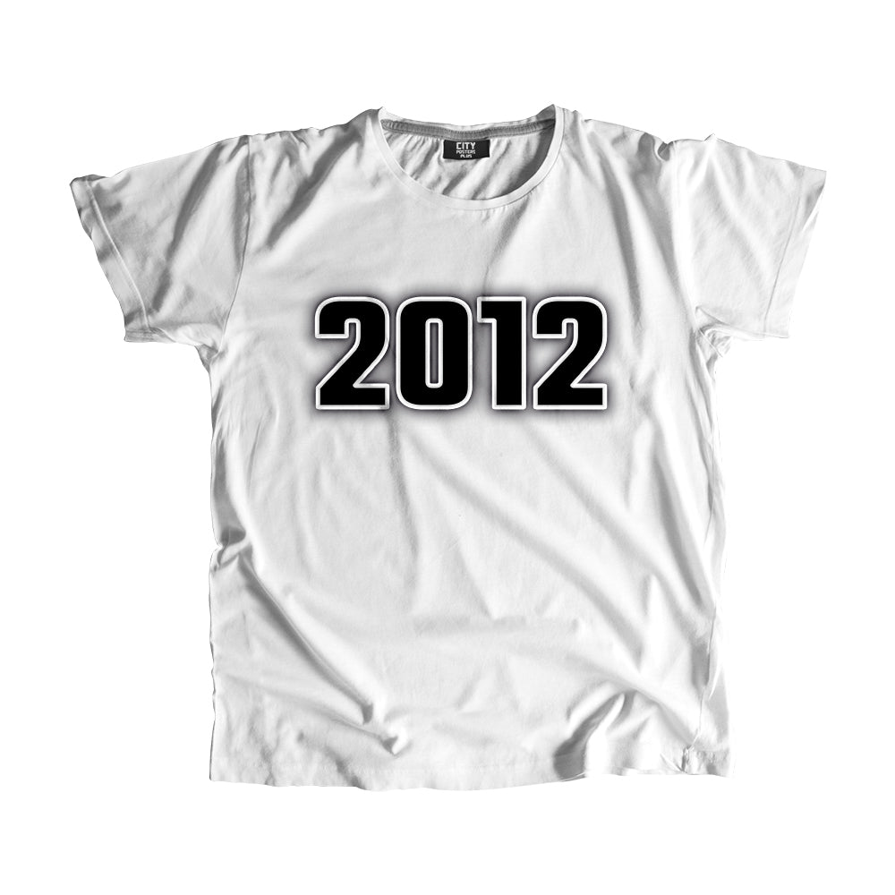 2012 Year Men Women Unisex T-Shirt