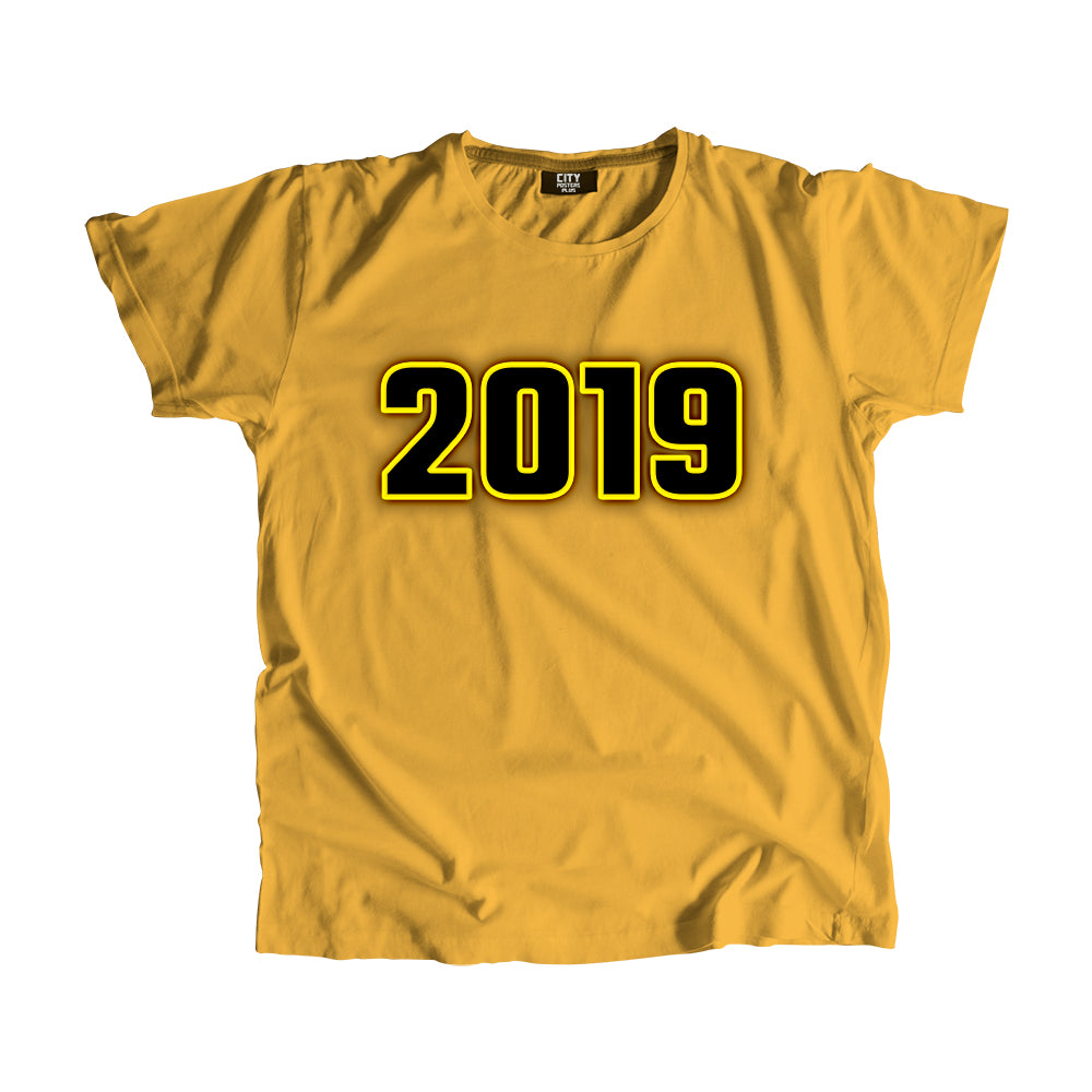 2019 Year Men Women T-Shirt