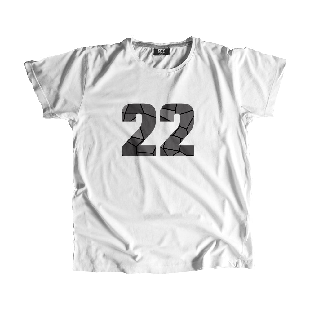22 Number Men Women Unisex T-Shirt