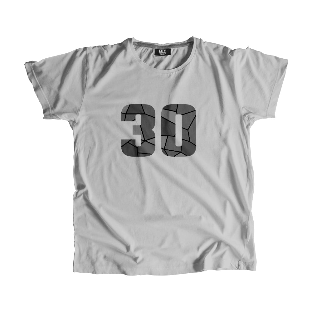30 Number Men Women Unisex T-Shirt