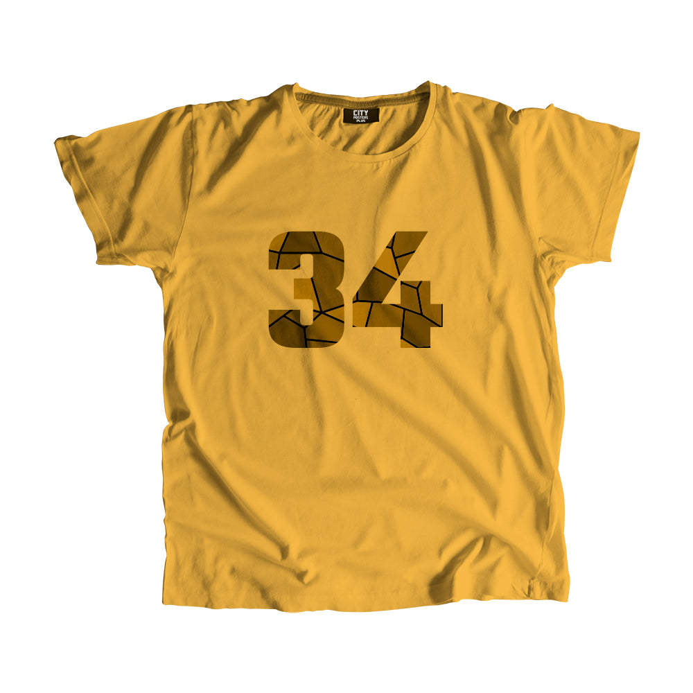 34 Number T-Shirt
