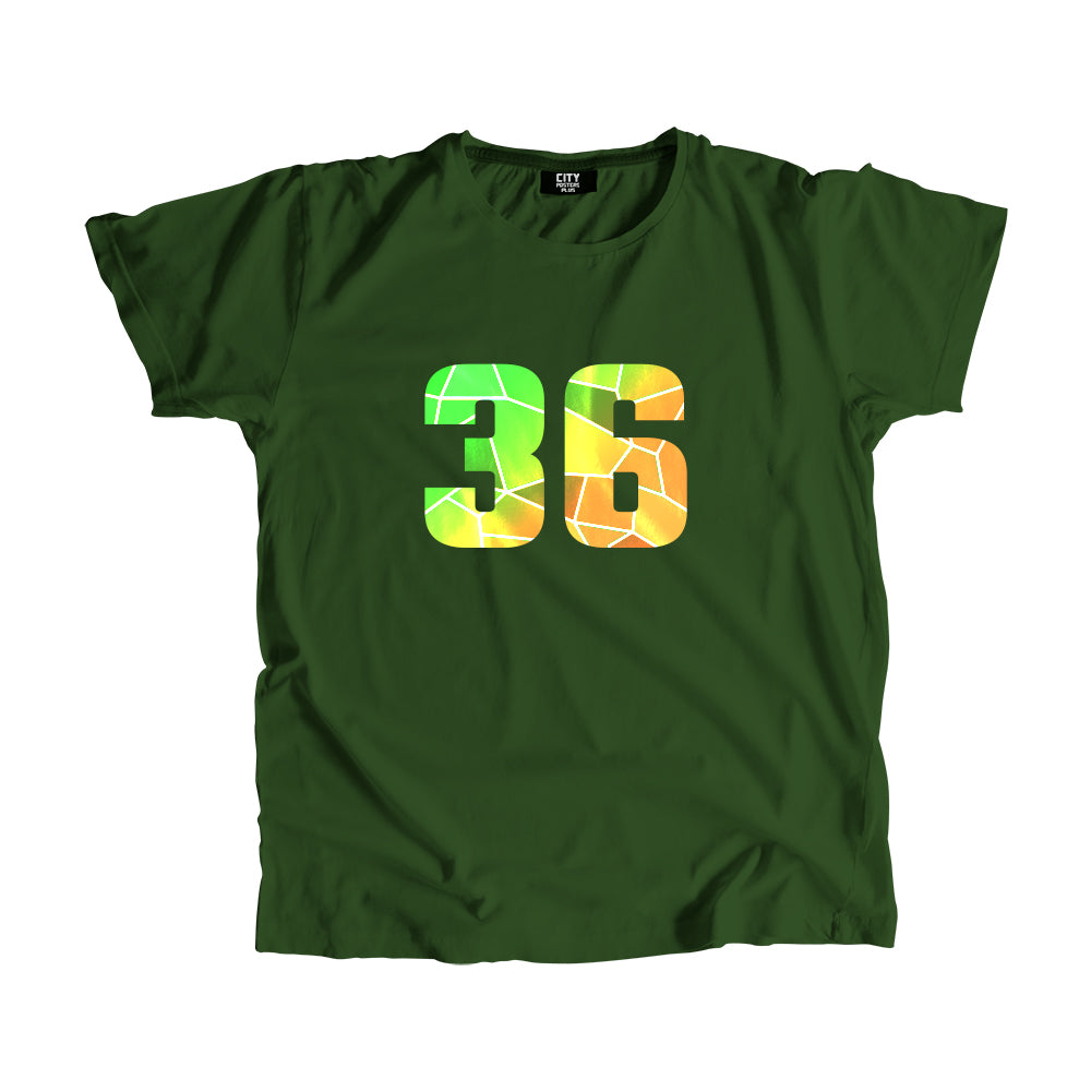 36 Number Men Women Unisex T-Shirt