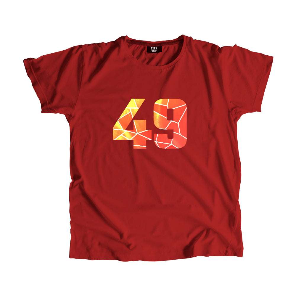 49 Number Men Women Unisex T-Shirt