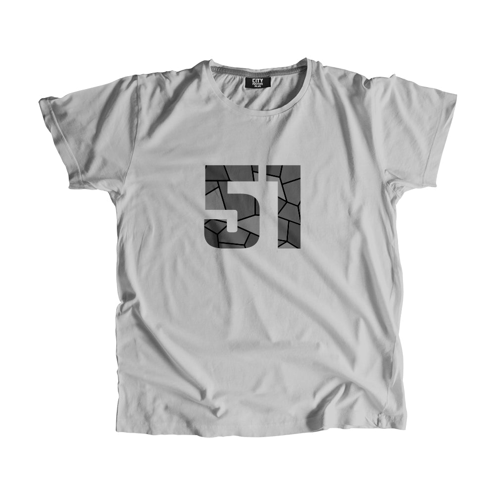 51 Number Men Women Unisex T-Shirt