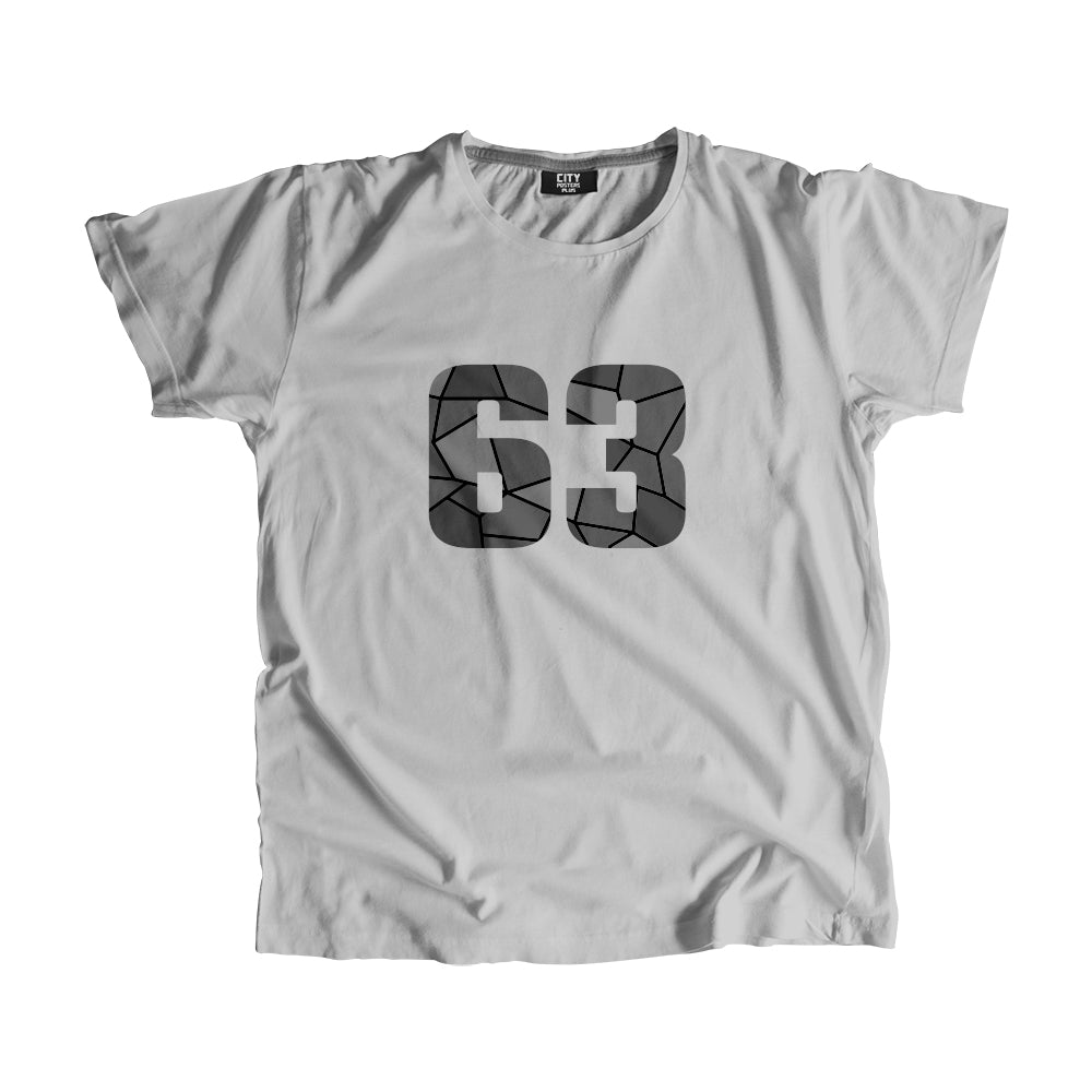 63 Number Men Women Unisex T-Shirt