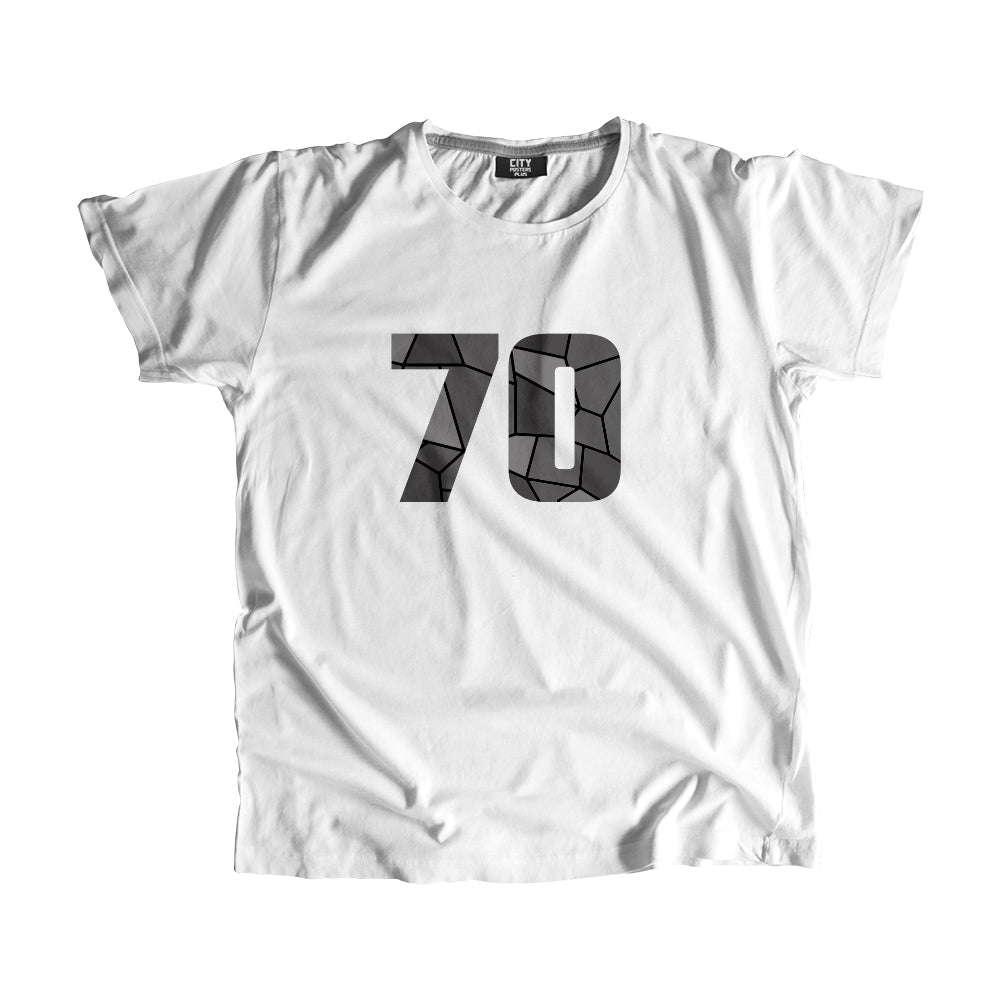 70 Number Men Women Unisex T-Shirt