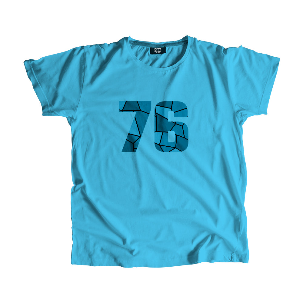 76 Number Men Women Unisex T-Shirt
