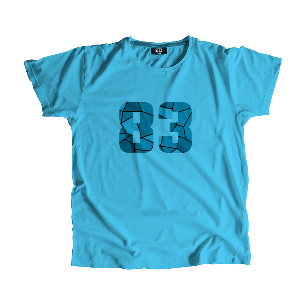 83 Number Men Women Unisex T-Shirt