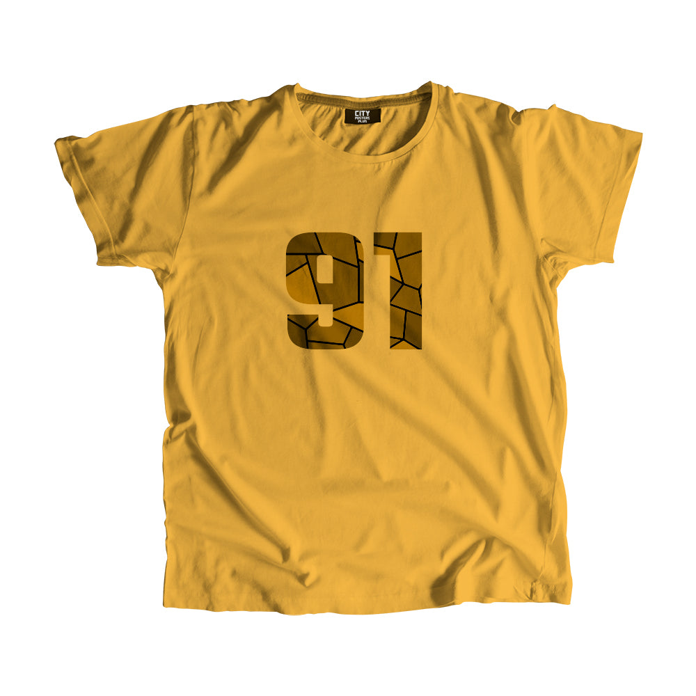 91 Number T-Shirt