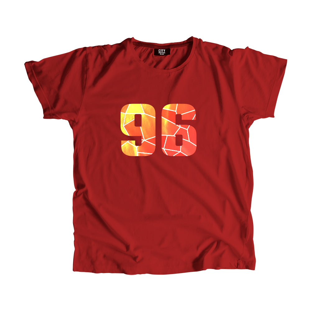 96 Number Men Women Unisex T-Shirt