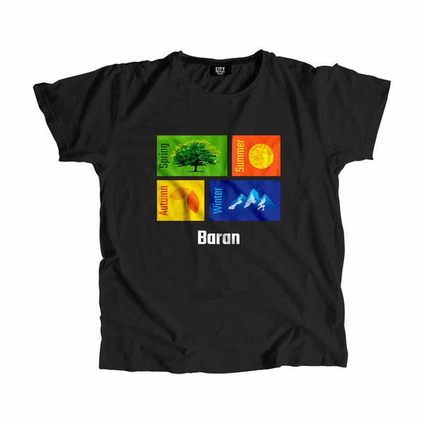 Baran Seasons Men Women Unisex T-Shirt