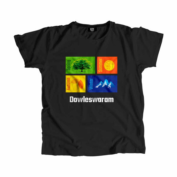 Dowleswaram Seasons Men Women Unisex T-Shirt