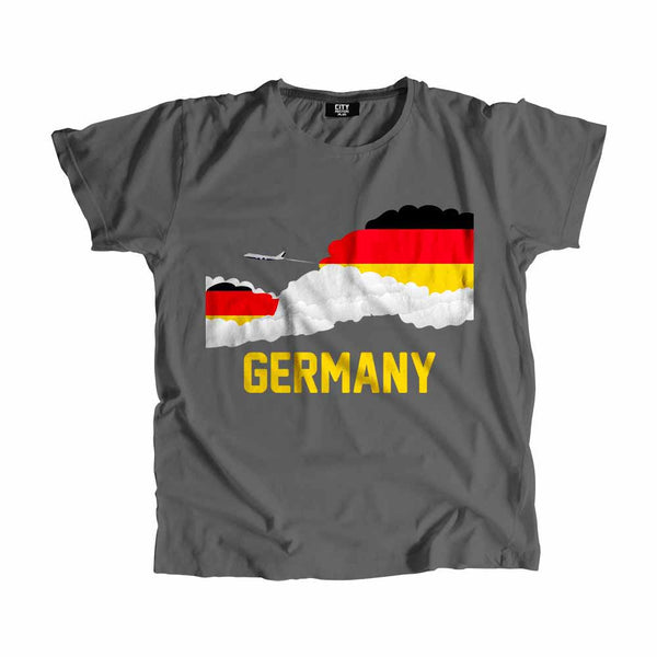 Germany Flags Clouds T-Shirt