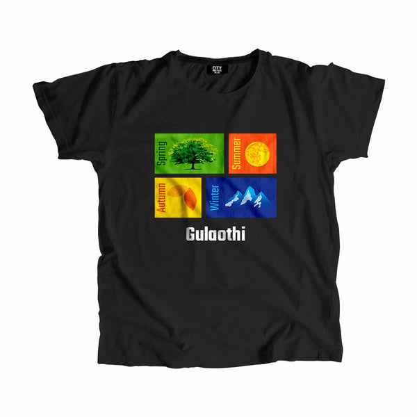 Gulaothi Seasons Men Women Unisex T-Shirt