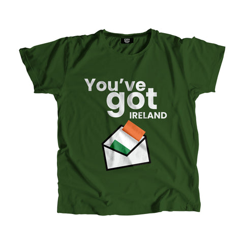 Ireland Flag Mail T-Shirt