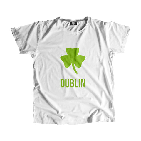 Dublin Shamrock Men Women Unisex T-Shirt