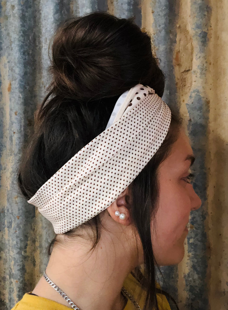 Polka Dot Head Wrap