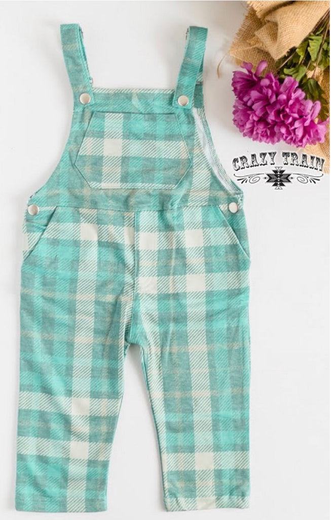 Keep It Teal Overalls