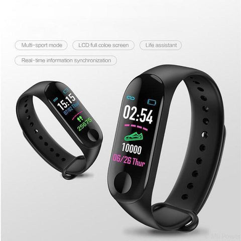M3 Plus | Multi Coloured Screen | Smart Band
