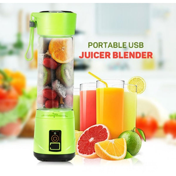 Blendjet Portable Blender 1+1 FREE ( Mixing 380ml Plastic Smoothie Shakes Blender Extractor Mode USB Rechargeable Automatic Juicer Cup)