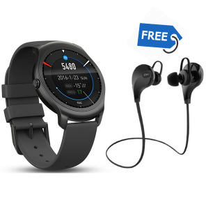 Infinity 2.0 Smartwatch + QY7 Bluetooth Stereo Earphone with mic