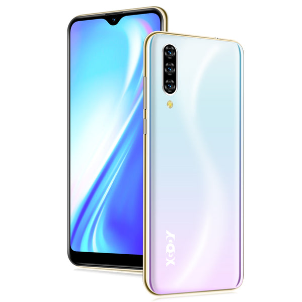 Note 7 XGODY Smartphone Dual Sim 6.26'' Waterdrop Screen Android Quad Core Face ID | Fingerprint unlock 4G Smart Phone