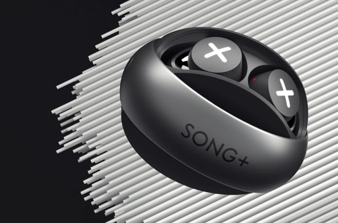 SONG X TWS Earbuds: Sleek Design, Great Sound Wireless Charging Case, Single Mode, Unique Star-Ring Design, 25 Hours Playtime, IPX5, Bluetooth 5.0