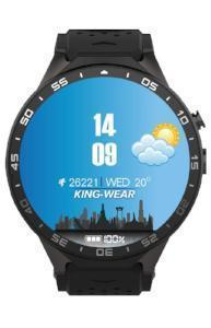 KW88 Android 5.1 Amoled Screen 3G Smartwatch