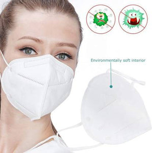 10pcs 3M N95 Protective Masks for Virus Protection Suitable for Influenza and Pollutant