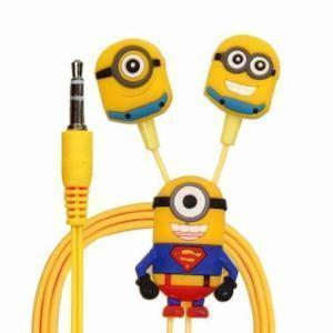 MINIONS With MIC Headphone , Mobile In-Ear Earphone
