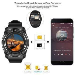 Photon Q 4G LTE Compatible Smart Watch with Camera