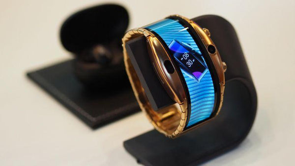 NextgenerationX 5.0 Smartwatch-Foldable Flexible Display compatible with Android & iOS smartphones