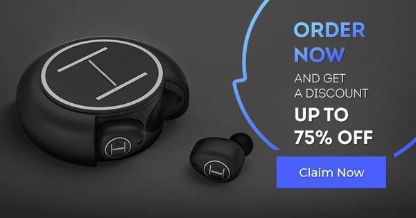 HiFi Wireless Earbuds with 100 Hours Playtime Ambient Mode, Bluetooth 5, Noise Cancellation, Waterproof (IPX5), Wireless Power Bank, 100H Battery!!