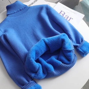 Turtleneck Cashmere Pullovers