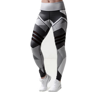 BEFORW 2019 Fashion Polyester Digital Printing Leggings Plus Size Women Sexy Workout Black Leggings Camouflage Camo Pants