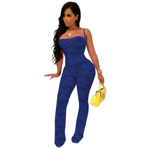 Lace Hollow Jumpsuit