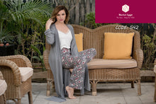 Load image into Gallery viewer, Grey Pajama Set With Colorful Talon