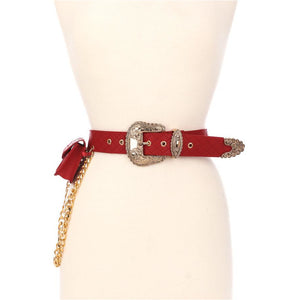 She's Extra Quilted Belt with side pouch-Adore Her Sole