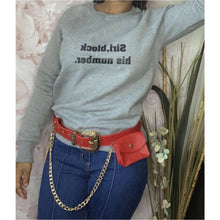 Load image into Gallery viewer, She's Extra Quilted Belt with side pouch-Adore Her Sole
